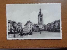 Kortrijk, Grote Markt En Sint Maartenskerk -> Onbeschreven - Kortrijk