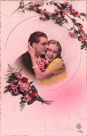 Couple - Roses - Bonheur - Rose - Couples