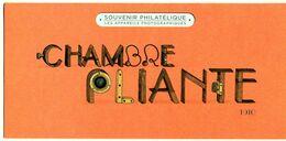Bloc Souvenir N° 105 - Les Appareils Photographiques - Chambre Pliante 1910 - Souvenir Blokken