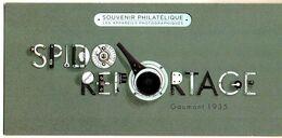 Bloc Souvenir N° 106 - Les Appareils Photographiques - Gaumont 1935 - Souvenir Blokken