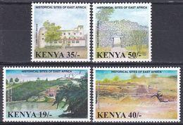 Kenia Kenya 2002 Archäologie Archaeology Historische Stätten Historical Sites Nil Fort Lamu Landscapes, Mi. 763-6 ** - Kenia (1963-...)