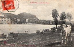6262 Cpa Pont D'Ain - Les Bords De L'Ain - Autres Communes