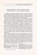 708 Hanisch Vulkan Tupungatito Chile Anden Artikel Von 1908 !! - Other