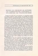 711 Johannes Emmer Geschichte Alpenverein Artikel Von 1908 !! - Other