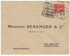 ESC 50c Semeuse O. Daguin Falaise Calvados 1926 - 1921-1960: Modern Tijdperk
