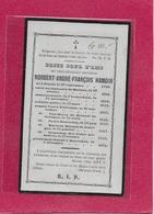 MONSIEUR-NORBERT HAMOIR -1790-1871- JAUCHE-MECHELEN-JODOIGNE-BAUVECHIN - Images Religieuses