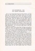 717 Hanns Schueller Heiterwand Lechtaler Alpen Artikel Von 1908 !! - Other