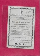 MONSIEUR-AIME MOUREAU -1812-1877- JAUCHE-JAUCHELETTE-AVELINES - Images Religieuses