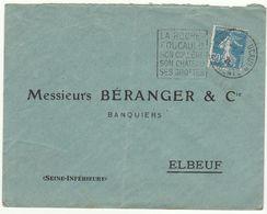 ESC 30c Semeuse O. Daguin La Rochefoucauld Charente  1926 - 1921-1960: Modern Tijdperk
