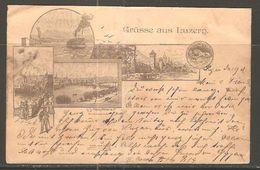 Carte P De 1897 ( Lucerne ) - LU Lucerne