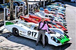 Hans Mezger  (1929-2020) - Célebre Ingénieur De Porsche 917 - 15x10cms PHOTO - Le Mans
