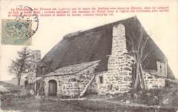 07 ARDECHE La Chaumière Des Princes De La Route Du Gerbier Maison En Toit De Chaume Et De Lauzes - Autres Communes