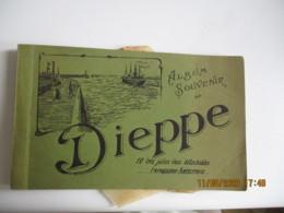 Dieppe Carnet 12 Cpa La Menagere F Authy Rue Saint Jacques - Dieppe