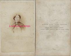 A Voir-vers 1866-Rare CDV Du Photographe Français Henri Victor Leménager En Angleterre à BUSHEY-lire - Portrait De Femme - Anciennes (Av. 1900)