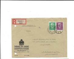 Brief Aus Eisenach Nach Meiningen 1930 - Cartas