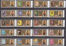 Sharjah 1972 Mi # 1158-77 A Munich Summer Olympics Champions, MNH OG - Verano 1972: Munich