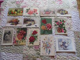 LOT De CARTES MODERNES De FLEURS,nature  DIVERS  ,prix Dérisoire ,a Voir Et étudier ,,environ  200+++EXEMPLAIRES - Cartoline