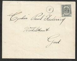 1904 BELGIQUE - PREOBL. 1c A GENT  - LIBERALE GRONDWETTELIJKE VEREENIGING Van GENT - Roller Precancels 1900-09