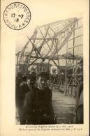 MILITARIA - Carte Postale - Arrivé Du Zeppelin Abattu En 1916 - L 67899 - War 1914-18