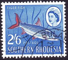 SOUTHERN RHODESIA 1964 2/6 Ultramarine & Vermillion SG102 FU - Rhodésie Du Sud (...-1964)