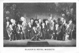 Glauer's Royal Midgets Kleinwüchsige Frauen Und Männer, Liliputaner - Lilliputiens Spectacle - Kabarett