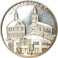 Allemagne, Jeton, 1200 Jahre Liederbach, History, 1991, SUP, Argent - Altri