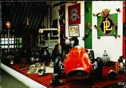 Cpsm Voiture De Course Panhard Levassor Rouge -  Musée De CLERES (76) - Autres