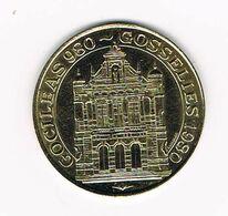 00  GOSSELIES  50 KAROLUS 1980 - Gemeindemünzmarken
