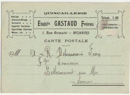 MONACO MONTE-CARLO - BEAUSOLEIL - VUE GENERALE - Zonder Classificatie