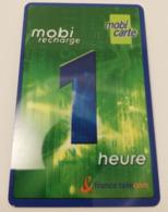 Télécarte - France Télécom - MOBI CARTE - Telecom Operators