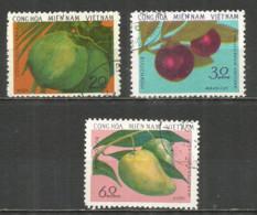 Vietnam North 1976 Year Used Stamps Set - Vietnam