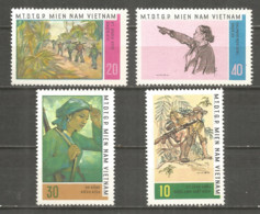 Vietnam Vietcong 1968 Mint Stamps MNG - Vietnam