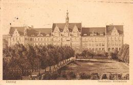 Gdańsk Danzig, Technische Hochschule - Danzig