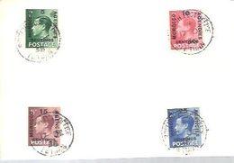 MOROCCO  1936  ONLY  FRONT - Grande-Bretagne (ex-colonies & Protectorats)