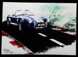Automobile COBRA BWR Illustration D'après Aude B. (2006) - Autres