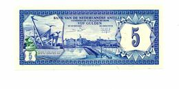 NEDERLANDSE ANTILLEN 5 GULDEN 1 JUNI 1984 FDC - Antille Olandesi (...-1986)