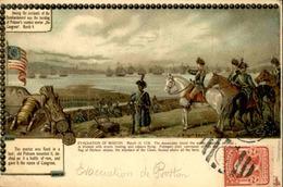 ETATS UNIS - Carte Postale - Boston - Carte Historique - L 67923 - Boston