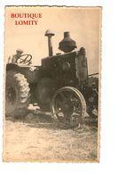 Agriculture Scene Agricole Tracteur Battage Batteuse Moissons Carte Postale Photo - Cultures