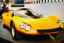 DINO FERRARI PININ FARINA - Collection MEXICHROME - Série Voitures De Course N°14 1960/70s - Le Mans