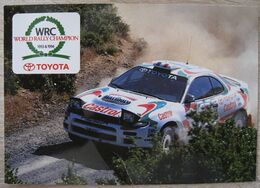 Toyota Celica Turbo 4wd. World Rally Champion 1993 & 1994. Voiture - Rallyes