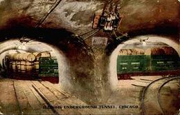 ETATS UNIS - Carte Postale - Chicago - Underground Tunnel - L 67928 - Chicago