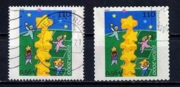 Europa CEPT 2000 Allemagne Fédérale - Germany - Deutschland Y&T N°1945 à 1946 - Michel N°2113 à 2114 (o) - 2000
