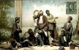 ETATS UNIS - Carte Postale - Groupe De Noirs - L 67929 - Etats-Unis