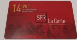 Télécarte - SFR - La Carte - Telecom Operators