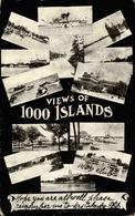 ETATS UNIS - Carte Postale - Souvenir Des 1000 Islands - L 67930 - Etats-Unis