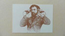 Carte Postale : PTT: Téléphone De Bell ,1877 Personne écoutant - Post