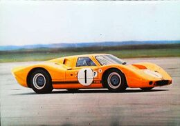 "FORD ""MK IV"" 1967  - Printed Roma - Le Mans"