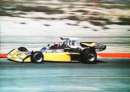 Driver John WATSON  Publicité   Surtees TS16 MATCHBOX  - Ets Perla  Années 70s - Grand Prix / F1