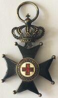 RARE - Médaille Croix-Rouge : Volontaires Internationaux Belgique (Ambulance - Dévouement) - Medals