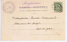 LOT Et GARONNE - Cachet Manuel ALLEMANS DU DROPT De Oct 01 - Postmark Collection (Covers)
